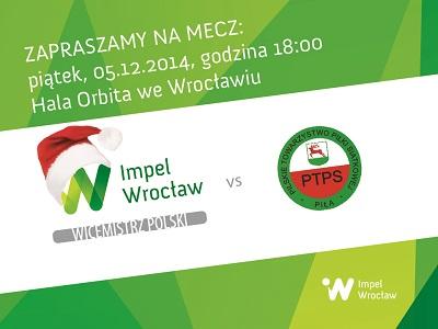 Mikołajkowy mecz Impel Wrocław – PGNiG Nafta Piła