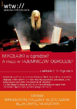 Mikołajki we Wrocławskim Teatrze Współczesnym: Tajemniczy Ogród