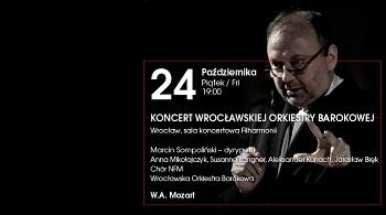 """Koncert Wrocławskiej Orkiestry Barokowej – """"speaking concert"""""""