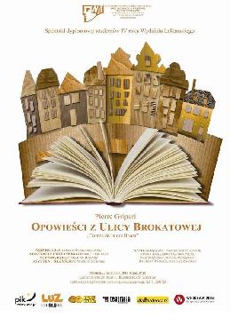 Opowieści z ulicy Brokatowej - spektakl dla dzieci