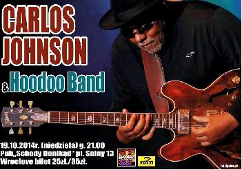 Koncert Carlos Johnson z towarzyszeniem formacji HooDoo Band,