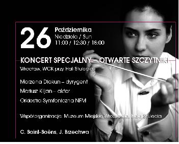 Koncert specjalny - Otwarte Szczytniki