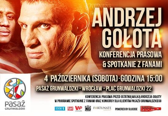 Spotkanie z Andrzejem Gołotą
