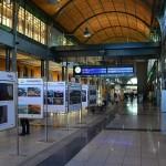 Osttni dzień wystawy Grand Press Photo 2014 na dworcu Wrocław Główny