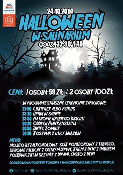 Halloween w Saunarium