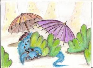 Historia potworzasta z parasolkowego miasta