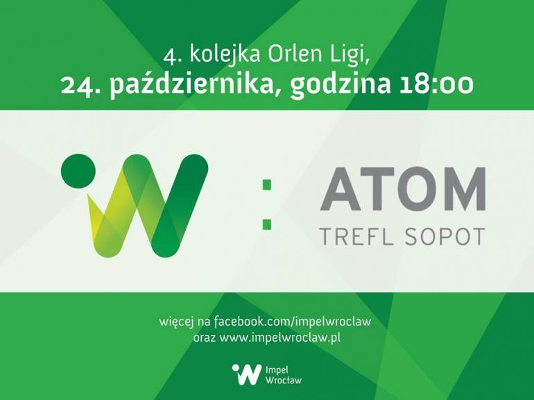 Mecz siatkówki - Impel Wrocław - PGE Atom Trefl Sopot