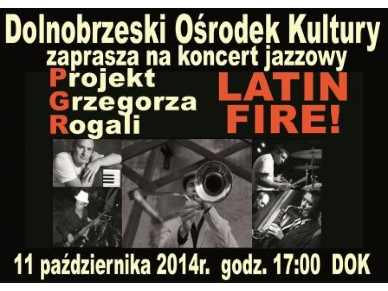 Koncert jazzowy Latin Fire!