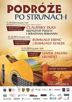 CLAUDSKY DUO Krzysztof Pełech i Sebastian Reimann Jesienne tango na skrzypce i gitarę