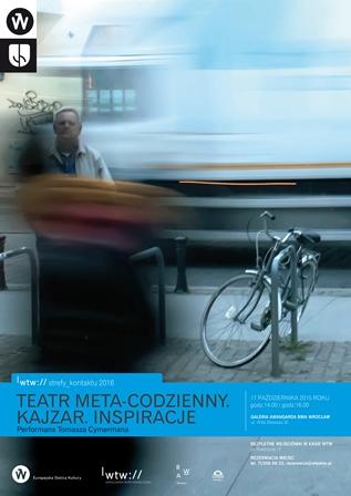 Performans Tomasza Cymermana w Teatrze Współczesnym