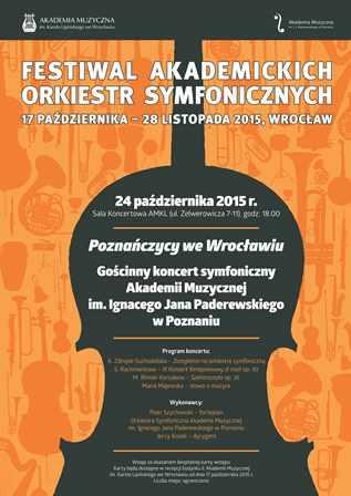 Festiwal Akademickich Orkiestr Symfonicznych – Poznańczycy we Wrocławiu