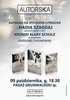 """Spotkanie z Nadią Szagdaj w """"Autorskiej"""""""