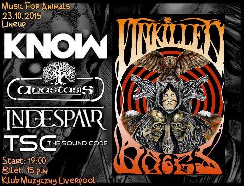 Unkilled Dogs 6 – koncert charytatywny w klubie Liverpool