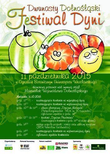 XII Dolnośląski Festiwal Dyni w Ogrodzie Botanicznym