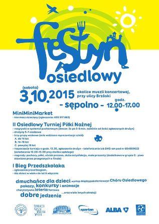 Festyn osiedlowy na Sępolnie