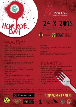 Horror Day 2015 - Dolnośląski Festiwal Grozy