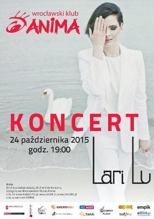 Koncert Lari Lu w klubie Anima