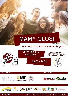 Mamy Głos! Forum Młodzieży Dolnego Śląska