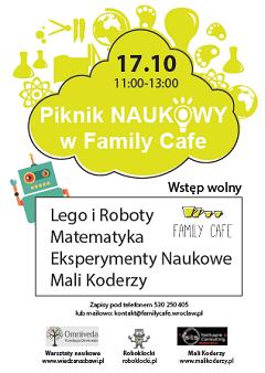 Piknik naukowy w Family Cafe