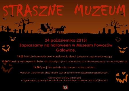 Straszne Muzeum – wystawa powozów i warsztaty dla dzieci