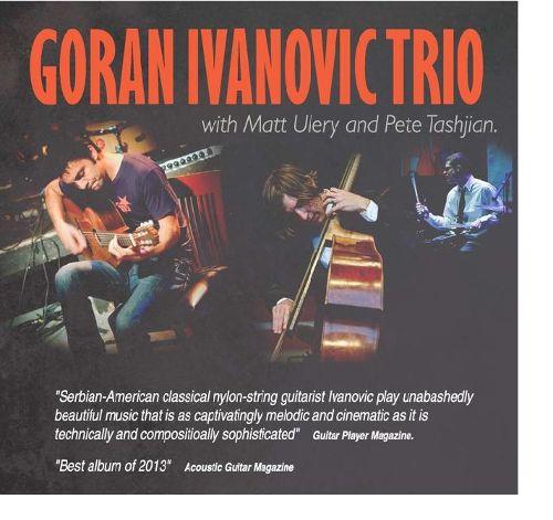 Goran Ivanovic Trio w Colloseum Jazz Caffe