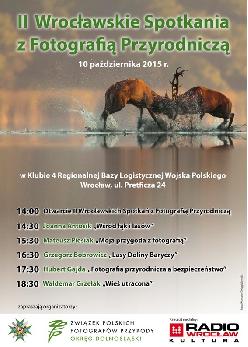 II Wrocławskie Spotkania z Fotografią Przyrodniczą