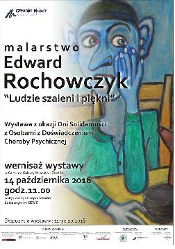 Wernisaż wystawy malarstwa Edwarda Rochowczyka w CKWZ