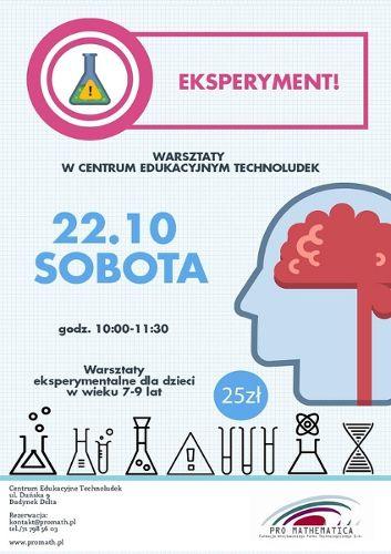 Pełne eksperymentów i wrażeń warsztaty chemiczno-fizyczne dla dzieci