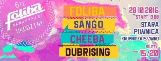 Foliba, Ŝanĝo, Cheeba i Dubrising w Starej Piwnicy