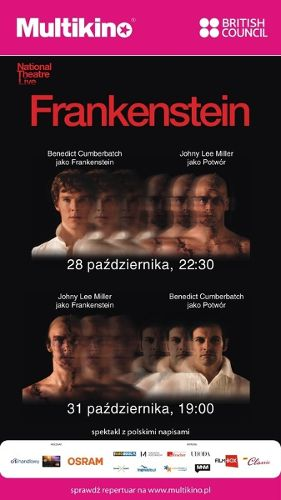 """Frankenstein"" z Cumberbutchem w Nationale Theatre Live"