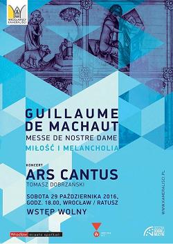 Koncert w Ratuszu: Guillaume de Mauchaut