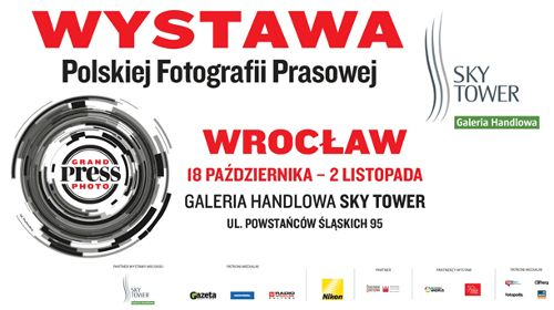 Wystawa Grand Press Photo 2016 w Sky Tower