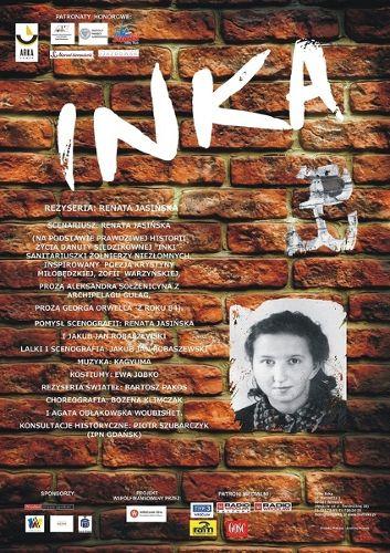 """Spektakl """"Inka"""" w Teatrze Arka"""