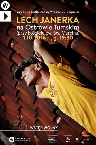 Koncert: Lech Janerka na Ostrowie Tumskim