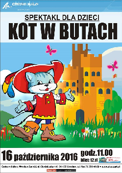 """Spektakl dla dzieci : """"Kot w butach"""""""