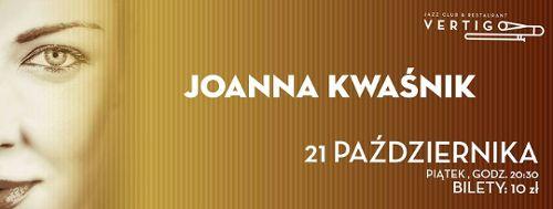 Joanna Kwaśnik w klubie Vertigo