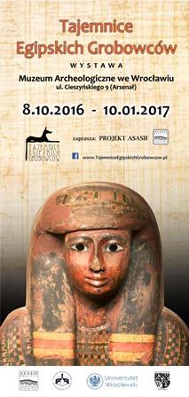 Wystawa Tajemnice Egipskich Grobowców