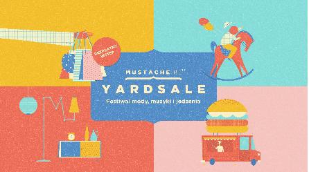 Targi mody i designu Mustache Yard Sale vol. 21