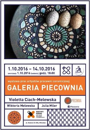 Wernisaż wystawy ceramiki w Krzywym Kominie