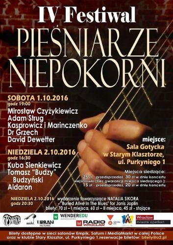 IV Festiwal Pieśniarze Niepokorni