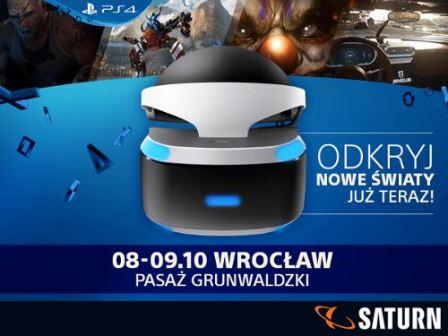 Playstation VR Roadshow w Pasażu Grunwaldzkim