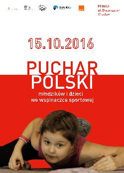 Puchar Polski młodzików i dzieci we wspinaczce sportowej