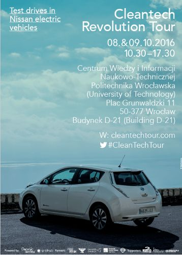Konferencja Cleantech Revolution Tour