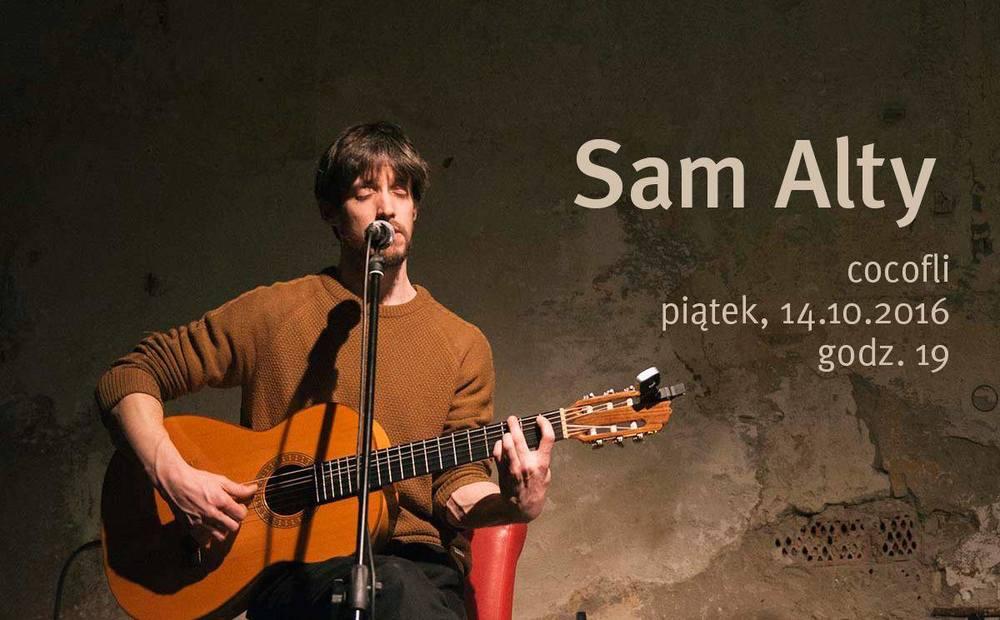 Muzyka na żywo w Cocofli - koncert Sam Alty
