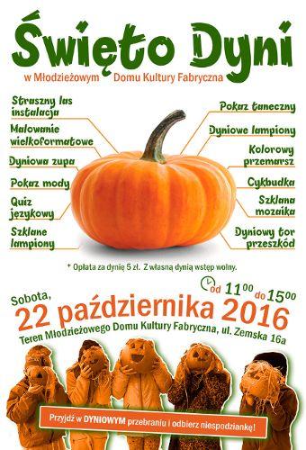 """""""Święto Dyni"""" MDK Fabryczna"""