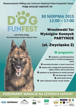 Wrocławskie Święto Adopcji Psów Dog Fun Fest