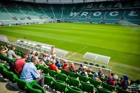 Stadion Wrocław – zwiedzanie z przewodnikiem