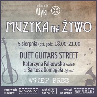 Duet Guitars Street w ALYKI