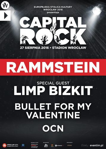 Rammstein i Limp Bizkit – Capital of Rock