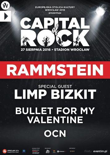 Rammstein i Limp Bizkit – Capital of Rock